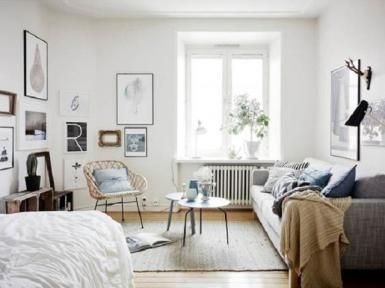 11 Easy Ways to Make a Small Room Look Bigger - The Style Files