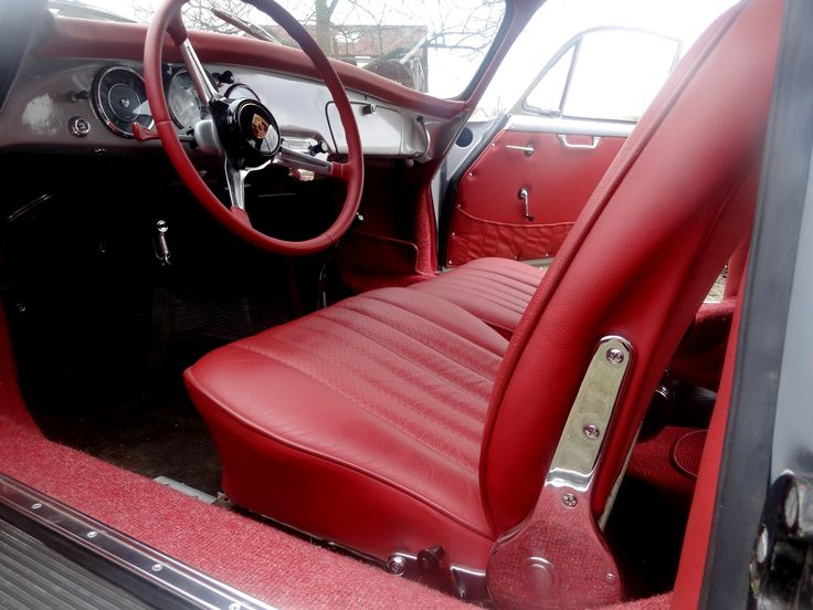Porsche 356b customs car upholstery