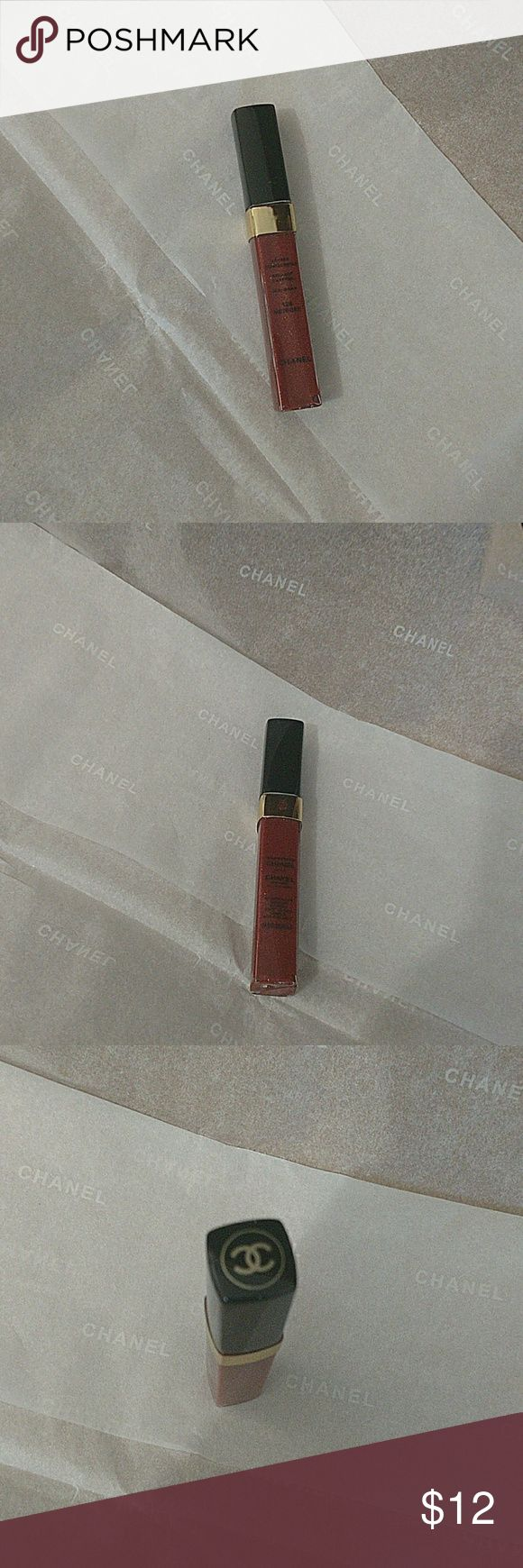 Chanel lips gloss#128: Meteore Without a box Chanel Lips gloss Paris made in France.Smaller size. CHANEL Makeup Lip Balm & Gloss