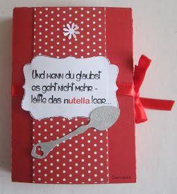 Diamantin´s Hobbywelt: nutella - Box