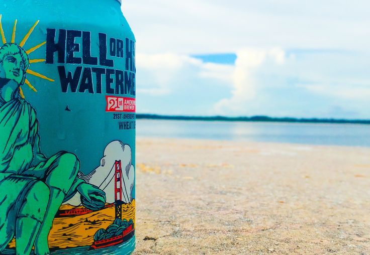 21st Amendment Brewery Hell Or High Watermelon #FavoriteBeers #summershandy #beers #footy #greatnight #beer #friends #craftbeer #sun #cheers #beach #BBQ