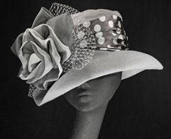 Sallita Der6-036 Carriage Driving hat by MAGGIE MAE DESIGNS® - www.maggiemae.com