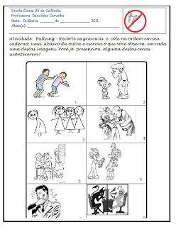 Alfabetização e Gestão Escolar, Literacy and School Management: Projeto Bullying Atividade contra o bullying.