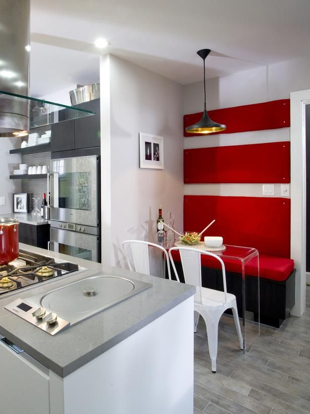 Red Hot Kitchen --> http://www.hgtv.com/kitchens/12-sexy-modern-kitchens/pictures/page-2.html?soc=pinterest