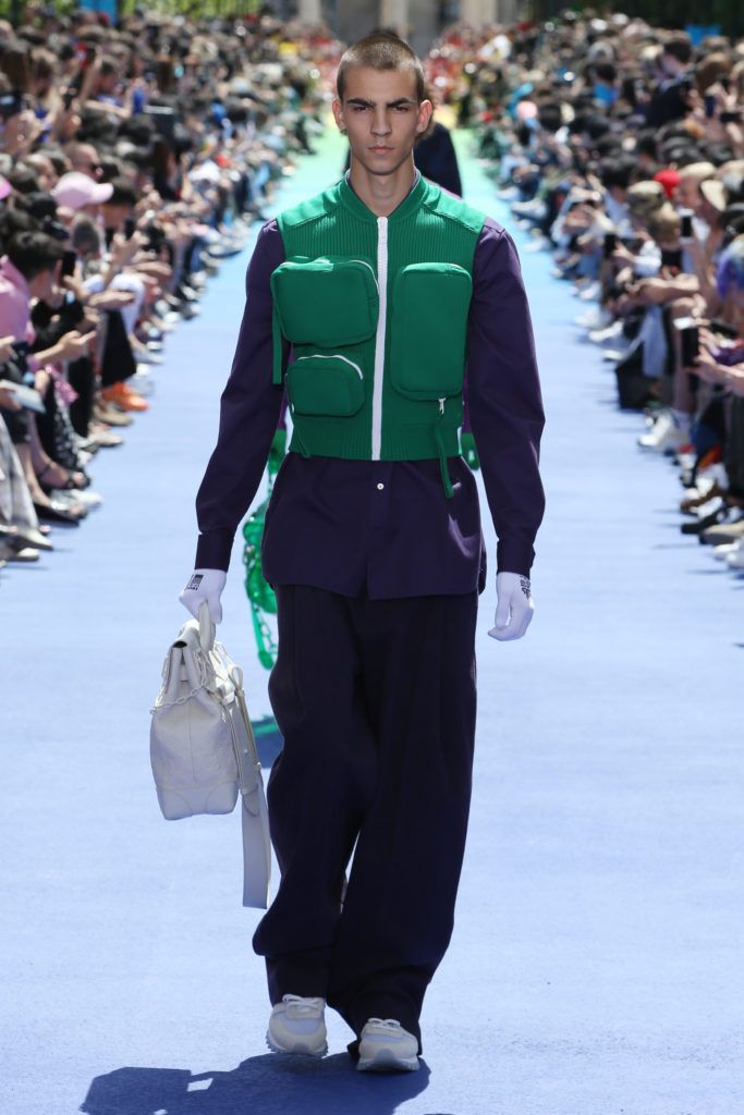 b175cc3e4c5e Louis Vuitton SS19 Review  Bold colors saturated head-to-toe silhouettes –  some a high-fashion take on monochrome dressing and others taking  color-blocking ...