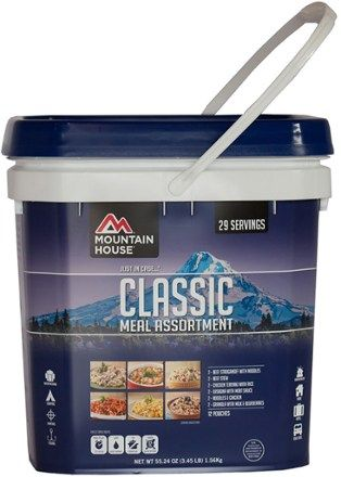 Mountain House Just In Case Classic Assorted Freeze-Dried Food Bucket