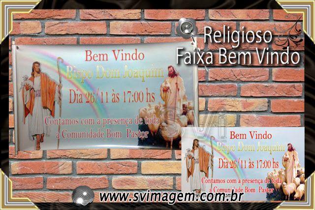 SV Imagem Personalizados - Silmara Vintem: Faixa e Banner para Igrejas e comunidades religiosos