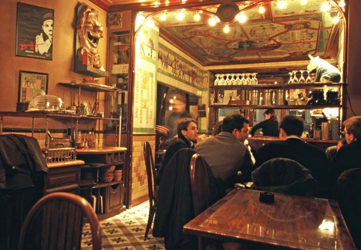 Le Clown Bar/a handsome 1852 arena between the Place de la Republique and the Bastille, the Clown Bar has always been one of the most charming places in Paris