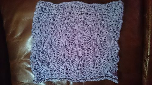 Ravelry: evelines' Test Cloudware cowl