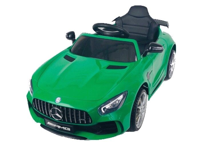 Mercedes Little Gt Coche Bateria Ninos Full Option Verde Ac