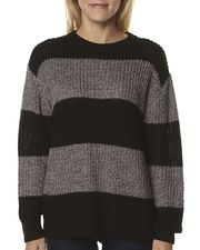 Cheap Monday Strip Knit - Black Grey WAS $99.00 NOW $59.40 http://richgurl.com/linkout/1357558