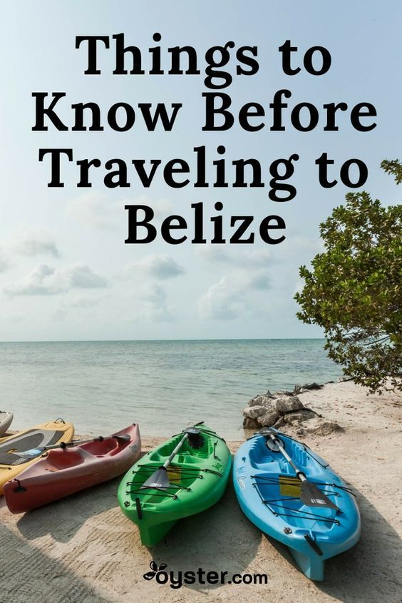 A unique mix of Central American culture and Caribbean shores, Belize offers a ton for travelers aside from the opportunity to make those well-known puns. Boasting peaceful islands, lush rainforests, archaeological wonders, and stunning wildlife both on land and in the water, there's an unbelizeable (sorry) array of things to do. But before you start packing your sunblock and e-reader, here are eight important things to know about the alluring country.