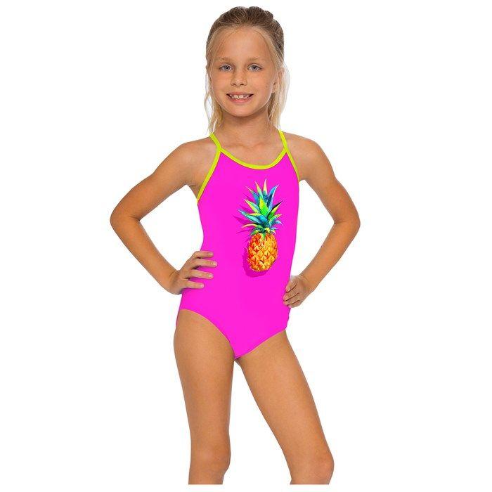 832a843a54064 InGear Fashions Girls' Lattice One Piece Swimsuit - Sun & Ski Sports ...