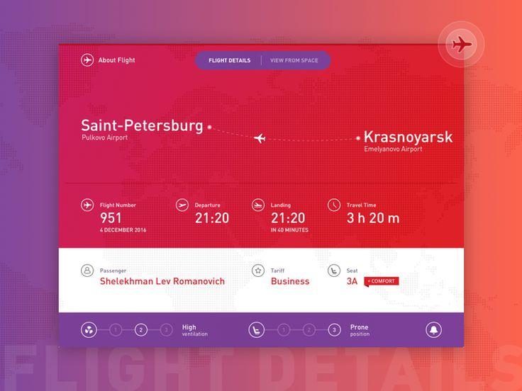 Flight Details  by Roman Shelekhov