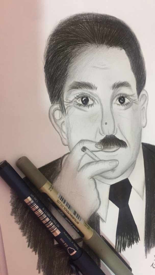 الشاعر عريان السيد خلف Art Male Sketch Male