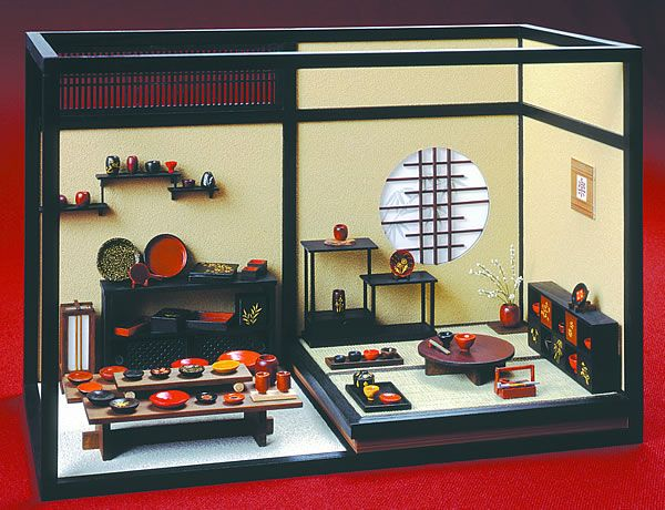 Miniature Children S Bedroom Room Box Diorama: 114 Best Asian Room Box Images On Pinterest