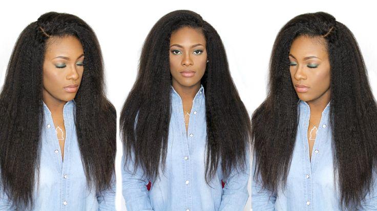 How I Install & Style Brazilian Kinky Straight Hair