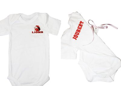 BabyK Printed Onesies: Support your Team