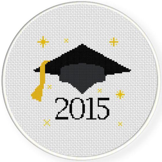 FREE Graduation 2015 Cross Stitch Pattern