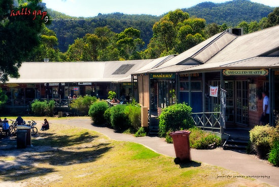 Halls Gap Shopping centre