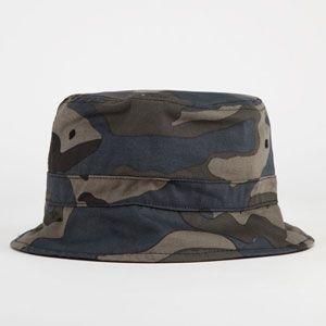 BLUE CROWN Camo Mens Bucket Hat #camo #bucket