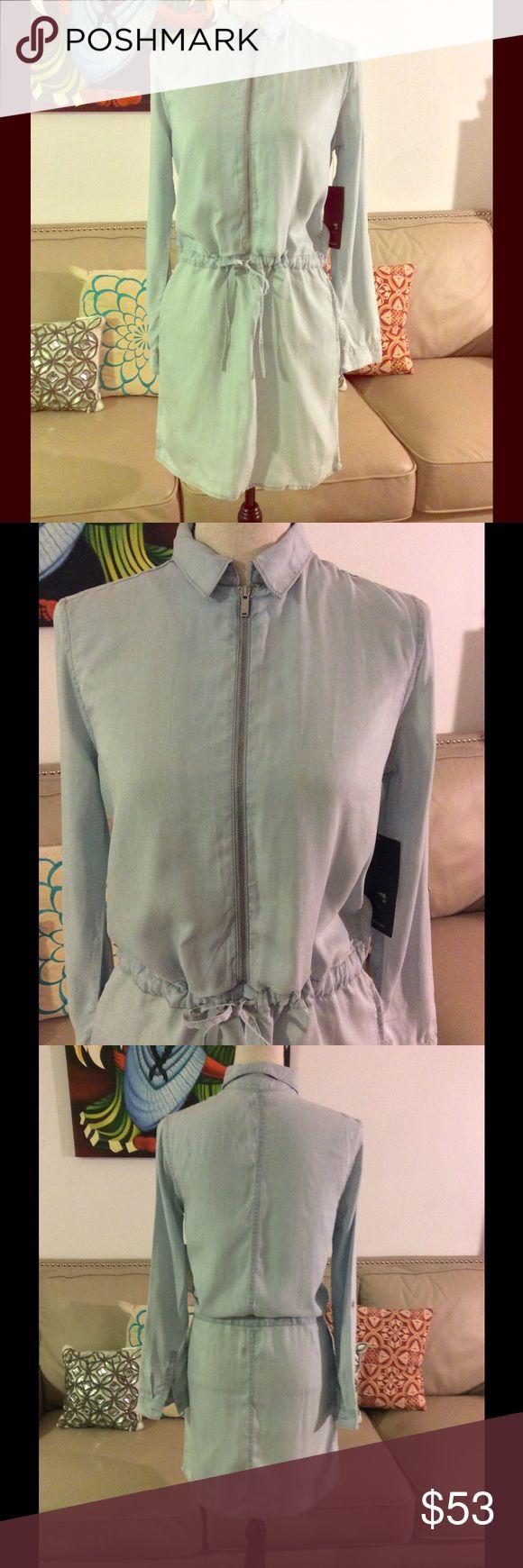 🔥SALE🔥Calvin Klein Jeans Dress Calvin Klein Jeans Denim Shirtdress is a modern casual look 👀 Calvin Klein Jeans Dresses