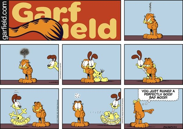 Garfield for 8/6/2017 | Garfield | Comics | ArcaMax Publishing