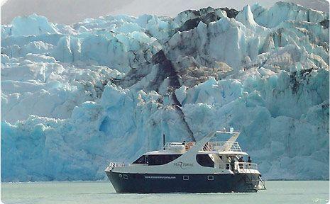 Navegación a glaciares Upsala y Spegazzini