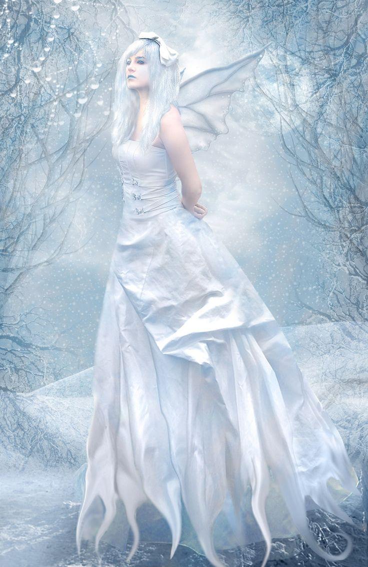 Winter Fairy #magia #hadas