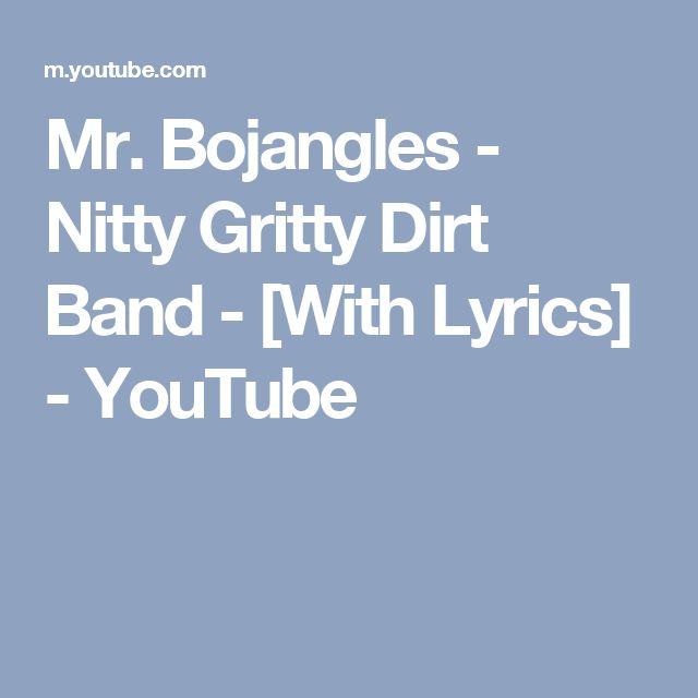 Mr. Bojangles - Nitty Gritty Dirt Band - [With Lyrics] - YouTube