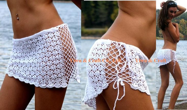 free crochet bathing suit patterns | Crochet Cover Ups by Michael