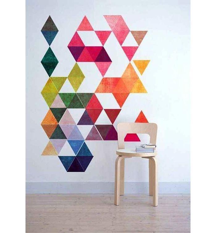 10 идей декора для стен из цветной бумаги – Своими руками