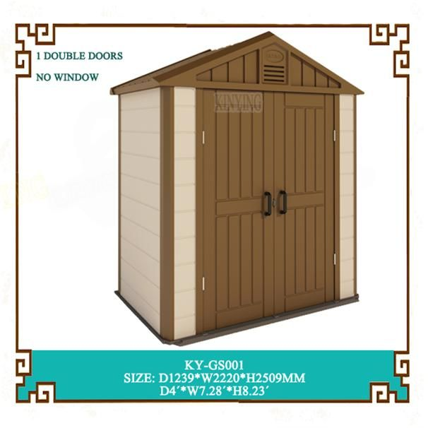 Plastic Outdoor Storage Shed