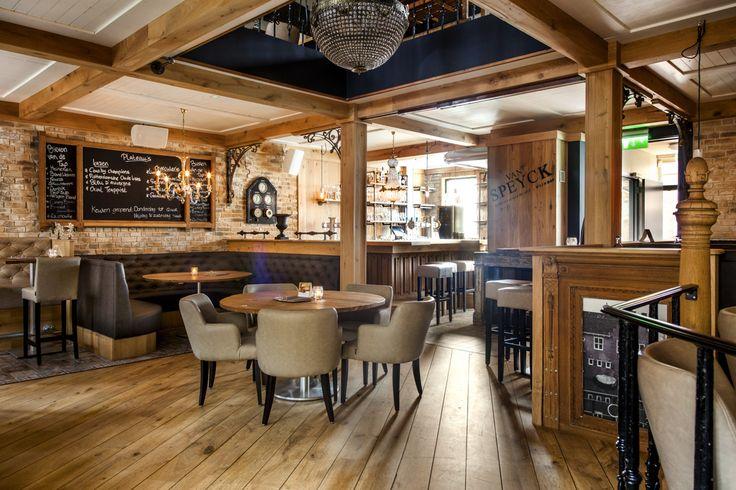 Wijnbar | Grand Café interieur Van Specyk | Industrieel Interieur - Gerealiseerde Projecten - Sijf & Dax
