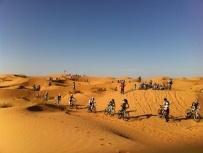 #Ciclistas en la TitanDesert