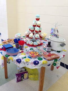 A Librarian Life For Me : -): Teacher Tuesday... a look back on the 12-13 school year! read across america, dr seuss, snacks