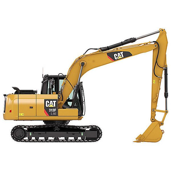 Cat | 316F L Hydraulic Excavator | Caterpillar ❤ liked on Polyvore featuring home, home decor and cat home decor