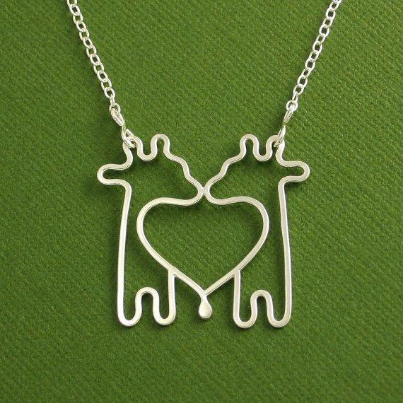 Aninimal Book: giraffe necklace...For the best friend! | Cute stuff ...