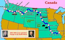 Lewis and Clark Map Thumbnail