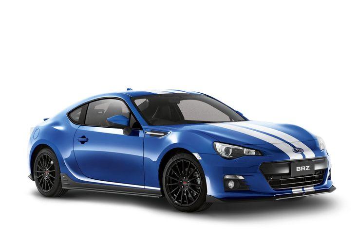 Subaru Gives Brz A Striped Special Edition With Sti Goods For Australia Carscoops Subaru Brz Subaru Subaru Cars