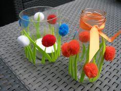 * Bloemen-lichtje voor mama!