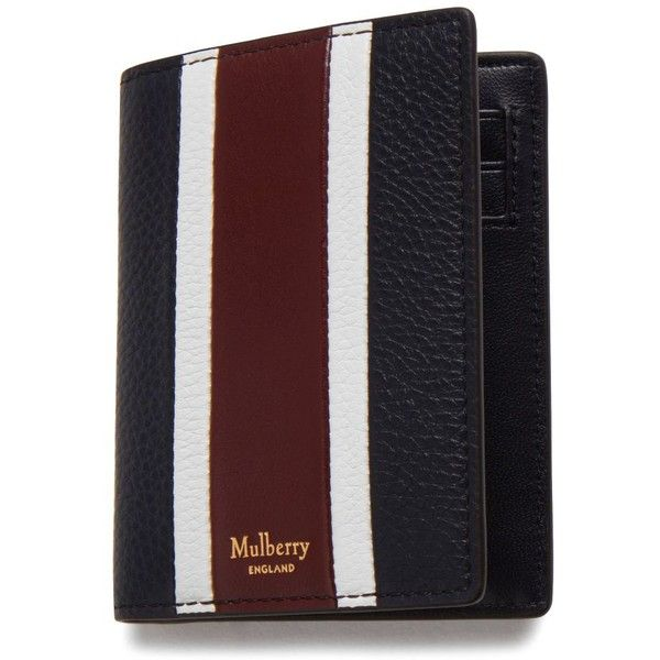 Mulberry Card Wallet ($175) ❤ liked on Polyvore featuring men's fashion, men's bags, men's wallets, mens leather credit card holder wallet, mens credit card holder wallet, mens slim wallets, mens leather wallets and mulberry mens wallet