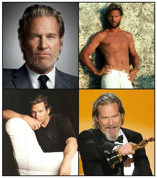 Jeff Bridges - aged to perfection!  Love his movies.