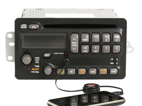Pontiac Aztek Montana Sunfire 2003-05 Radio AM FM CD Player w Aux Input 10317991