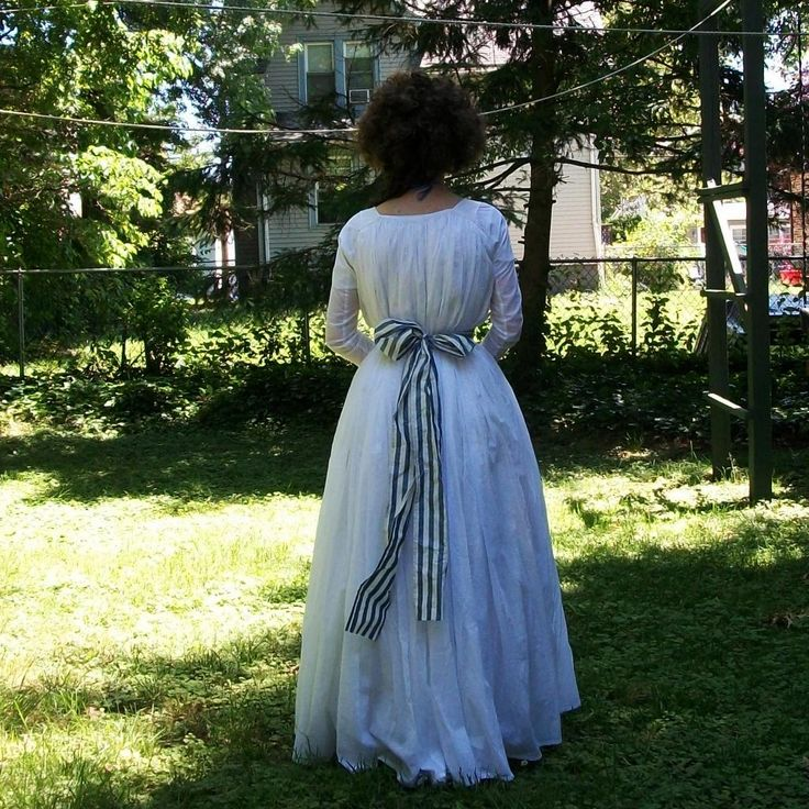 A Dedicated Follower of Fashion: Chemise gown