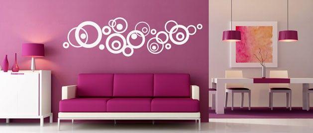 Kruhy (1516) / Samolepky na zeď, stěnu a nábytek