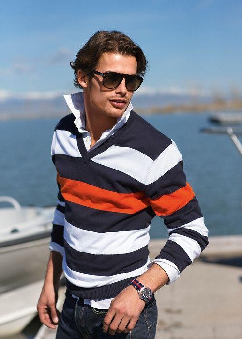 Emilanton Nautical Stripes | Nautical Clothes - Men | Pinterest | Sunglasses Nautical Stripes ...