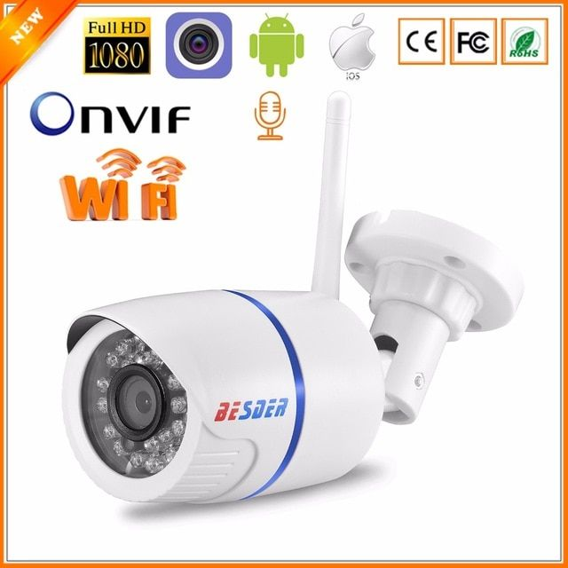 1080P HD Home Security  IP Wireless Camera WIFI Audio Surveillance CCTV outdoor