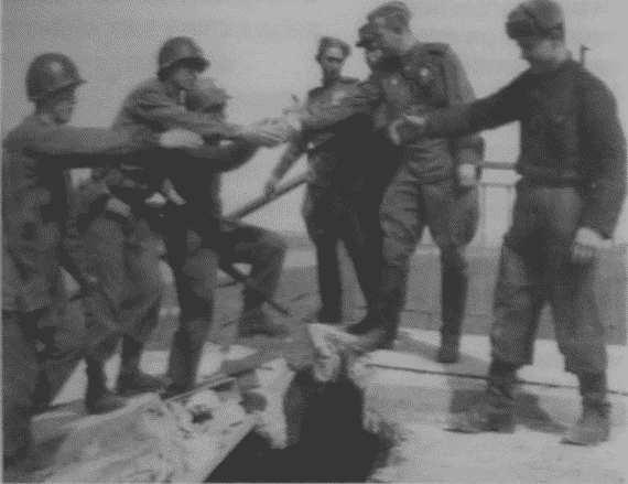 Встреча на эльбе американские солдаты джинсы