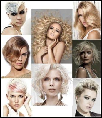 Culori de par la moda 2013, blond caramel